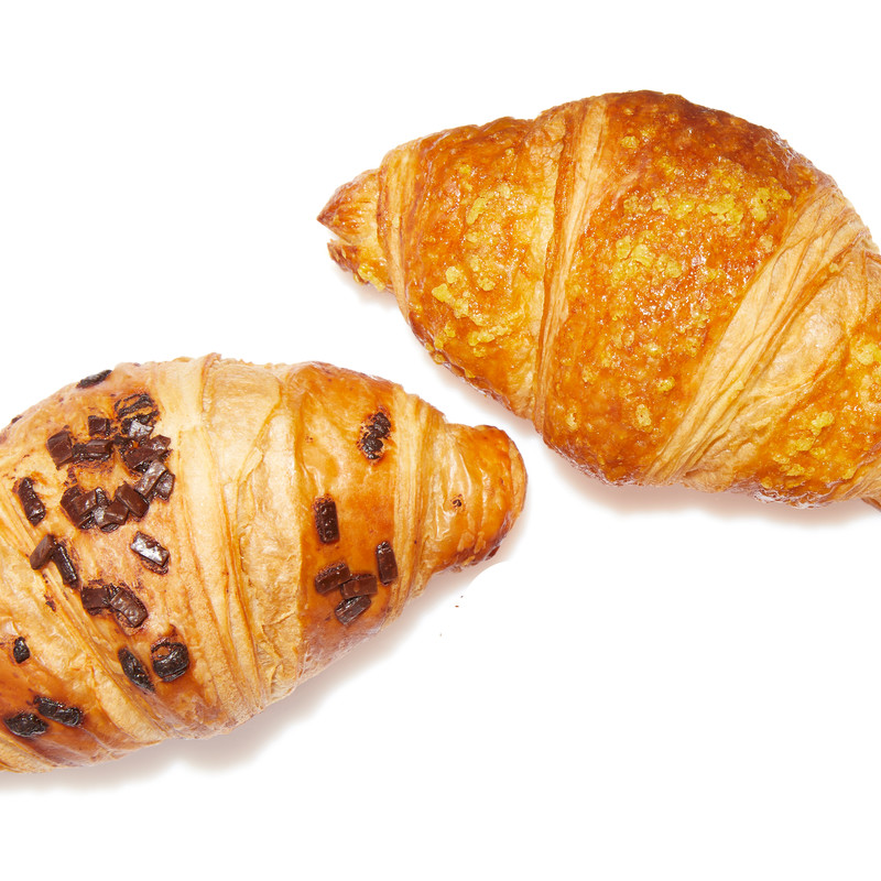 Mix Mini Croissants (Praliné - Apricot)