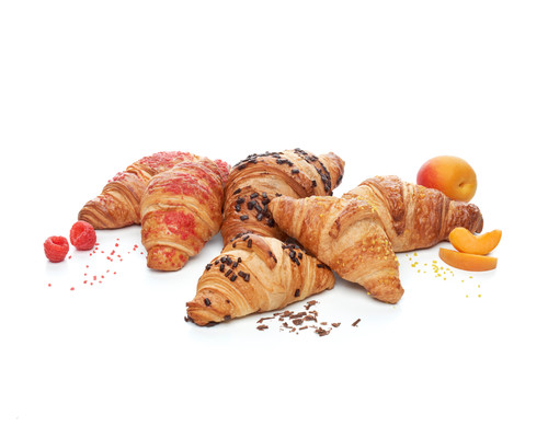 Sweet Filled Croissants