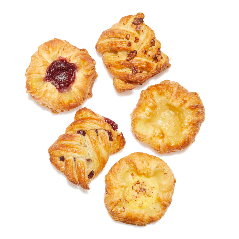 Mix Mini Danish Pastry  - myrtilles